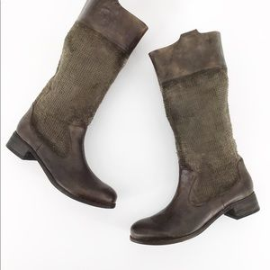 MIA Limited Edition Brown Frontier Tall Boots 8.5